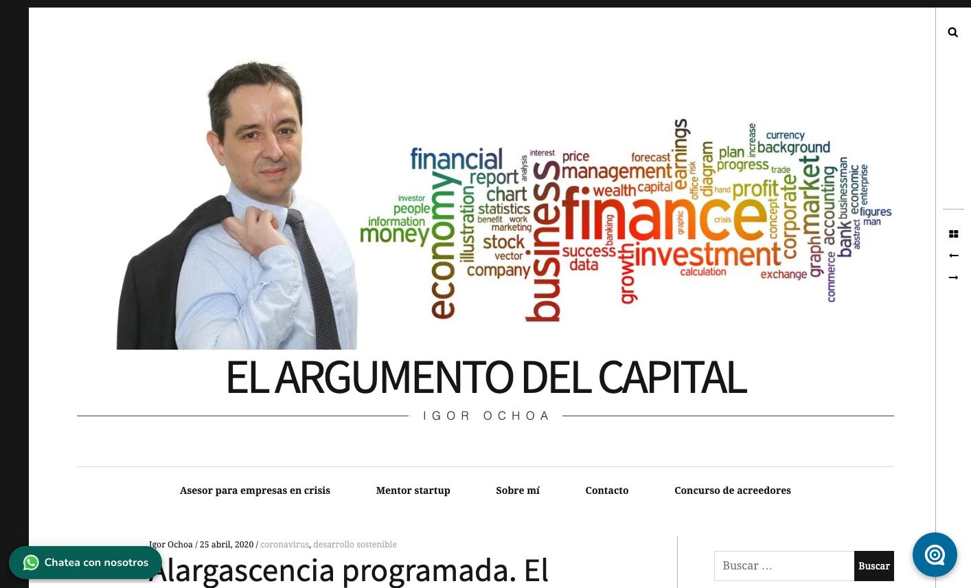 """""""Alargascencia programada"""""""
