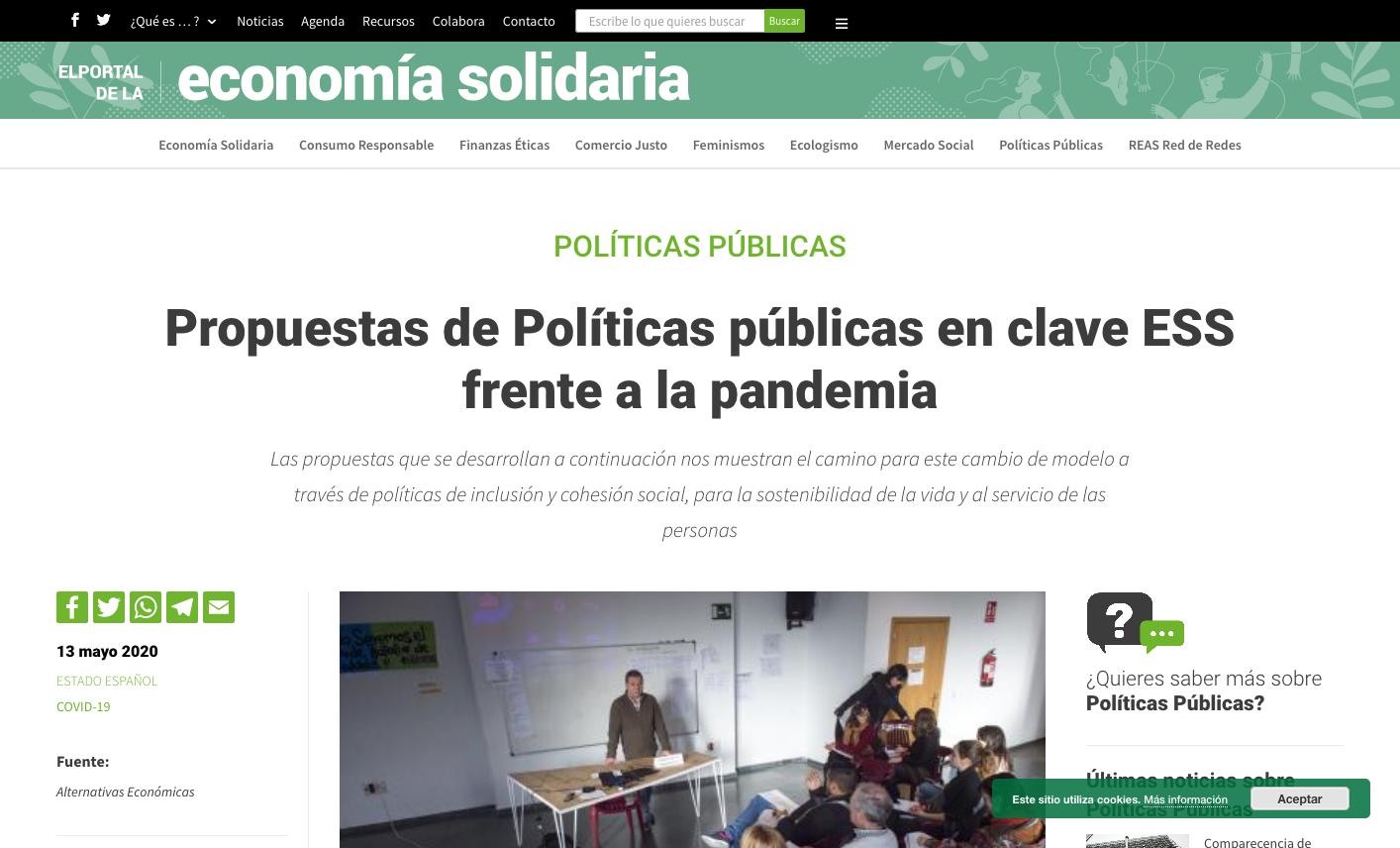 Inclusión y sostenibilidad a través de políticas públicas